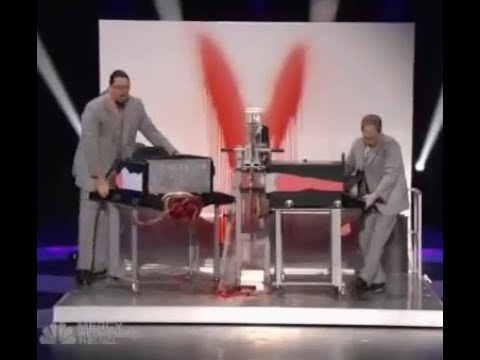 Cutting A Women in Two - Magic  Revealed 3XE