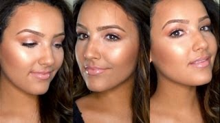 How To: Dewy, Glowing Skin (Foundation Routine) - YouTube
