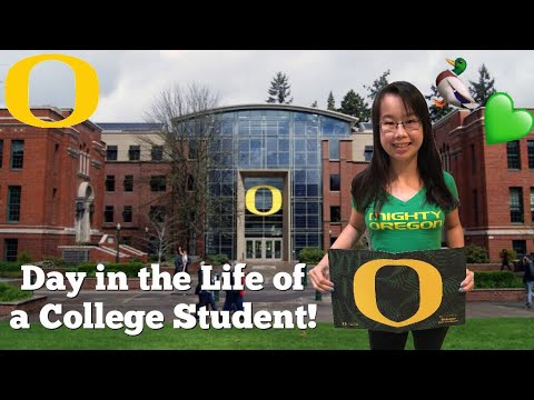 Day In The Life Of A College Student University Of Oregon