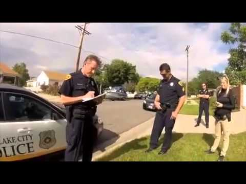 Lake - Sean Kendall shot this video of his interaction with Salt Lake City police after learning an officer had shot his dog in his backyard. (courtesy Sean Kendall)