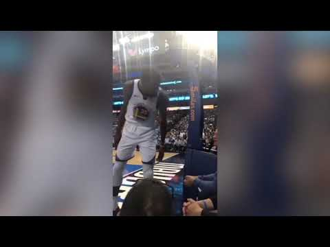 Kevin Durant Tells Fan To Shut The Fuck Up #nba