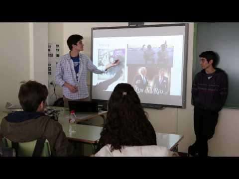 Intercambio lingüístico de Bachillerato con estudiantes de habla francófona