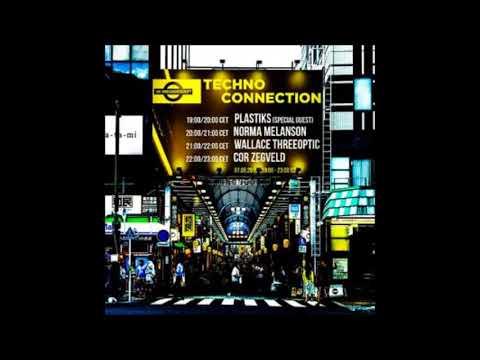Plastiks DJ/producer (Portugal) exclusive radio mix Techno Connection UK Underground FM 07/09/2018