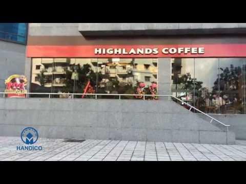 Higlands Coffee – Thêm lựa chọn cho giới văn phòng tại Handico Tower