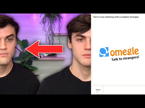 Twin Swap On OMEGLE