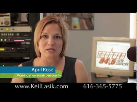 April - Keil Lasik Patient Testimonial: