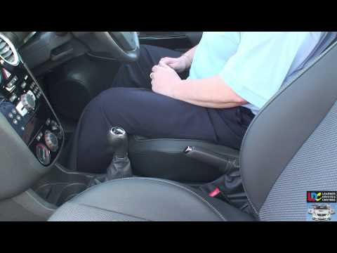LDC driving lesson 1 - Getting Moving - key learning points