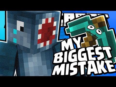 MY BIGGEST BEDWARS MISTAKE!! - MINECRAFT MINI GAME! (видео)