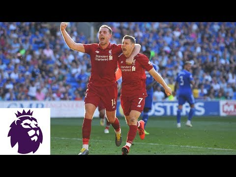 James Milner's Penalty Kick Doubles Liverpool's Lead V. Cardiff City | Premier League | NBC Sports