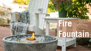 How to Set Up a Fire Fountain