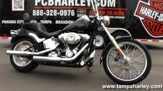 8. Used 2008 Harley Davidson FXSTC Softail Custom Motorcycles for sale