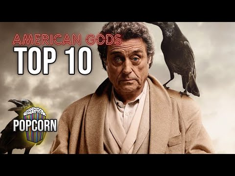 Top 10 Most Iconic Moments of Mr. Wednesday in American Gods Season 1 & 2