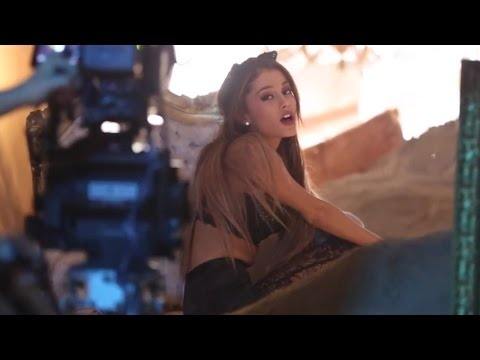 "Ariana Grande's ""Love Me Harder"" Music Video Behind The Scenes"
