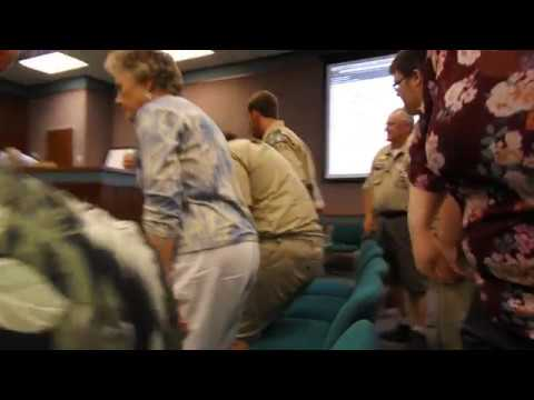 Video: Boy Scout Troop 215 at July 9, 2018, Sullivan County school board meeting