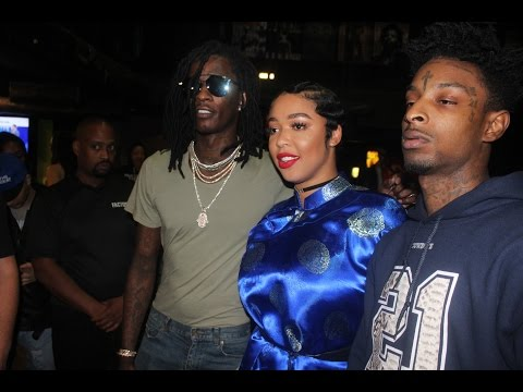 21 savage backstage with Young Thug Hihorsed tour with Lil Duke and Dj Duffey little boy IRM Films