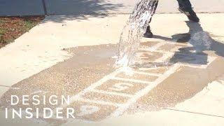 Hidden Art Reveals Itself When You Spill Water On It