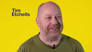"Tim Etchells discusses his play ""Status Update"" chosen for young people to perform as part of National Theatre Connections in 2017.https://www.nationaltheatre.org.uk/learning/connections"