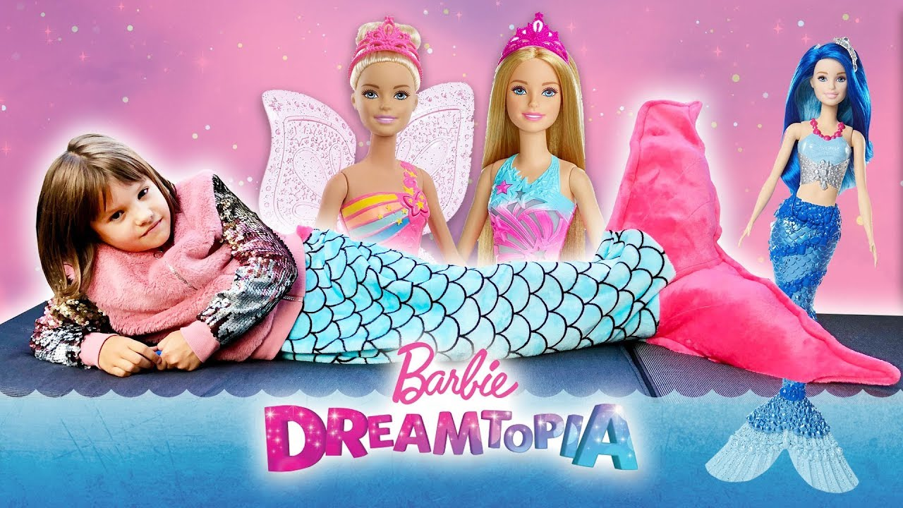 Amelka została syrenką🧜♀️, Barbie Dreamtopia