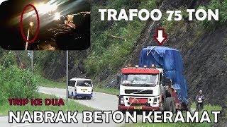 Video DETIK-DETIK TRUCK MUATAN TRAFO 75 TON NABRAK BETON KERAMAT SITINJAU LAUIK. MP3, 3GP, MP4, WEBM, AVI, FLV Desember 2018