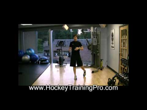Off Ice Goalie Drills: Hold your ready position
