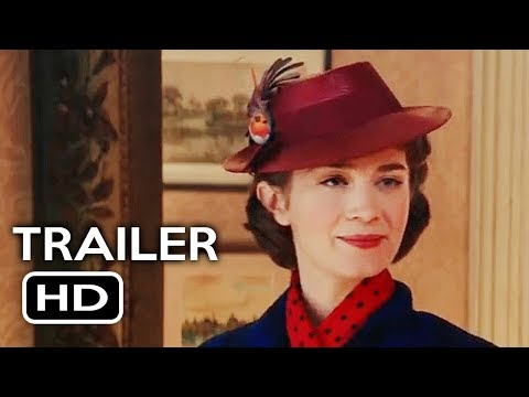 Mary Poppins Returns Official Trailer #1 (2018) Emily Blunt Disney Movie HD