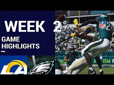 Rams vs. Eagles Week 2 Highlights | M21