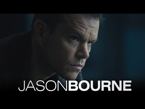 Jason Bourne - First Look Movie Trailer