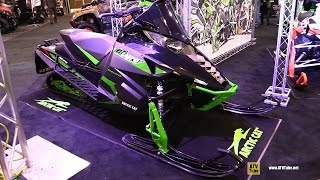3. 2016 Arctic Cat ZR El Tigre 9000 129 Sled - Walkaround - 2015 Toronto Snowmobile & ATV Show