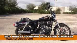 7. Used 2008 Harley Davidson Sportster Roadster Motorcycles for sale