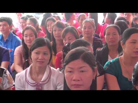 Ca nhạc trường Mầm non Hoa Sơn đón chuẩn Quốc gia 2016
