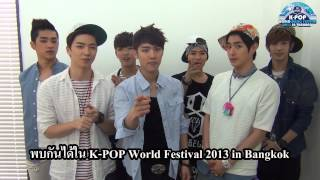 HD[100%]KBS K-POP World Music Festival 2013 In Thailand