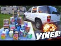 HILARIOUS Father n Son Fireworks! Funny Fourth of July Firework Fails w/ EXO