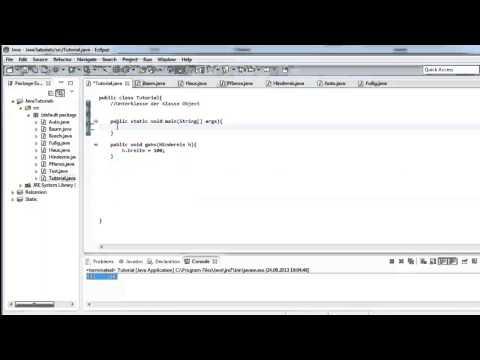Java Tutorial Teil 46 – Polymorphie