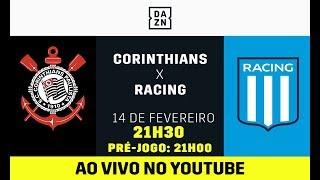 Corinthians x Racing AO VIVO e DE GRAÇA! Assista aqui com o DAZN!