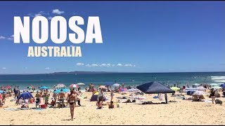 Noosa Australia  city photo : AUSTRALIA (2016): Noosa Main Beach & Hastings Street