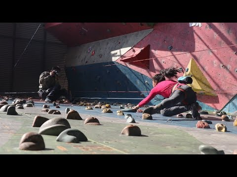 (Driving us up the wall | Behind the scenes of rock climbing photos | Nepali Times | - Duration: 2 minutes, 42 seconds.)
