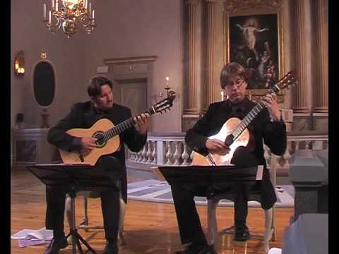 Duo Favoloso plays Waltz of the Flowers by Tchaikovsky