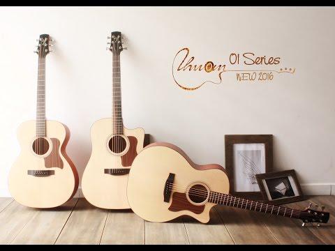 Đàn Guitar Acoustic Handmade Thuận Guitar AT-01c
