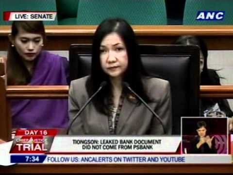 Tiongson says the document she has is different from what Estrada has