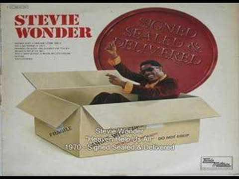 Tekst piosenki Stevie Wonder - Heaven help us all po polsku