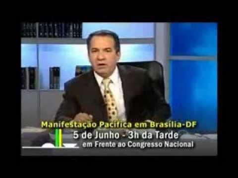 Pastor Silas Malafaia marca para junho um protesto em Brasília contra o casamento gay.