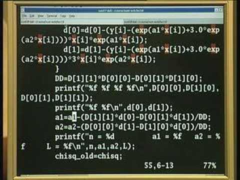 Lecture 16 - Matrix Elimation und Lösung
