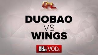 Wings vs DUOBAO, game 2