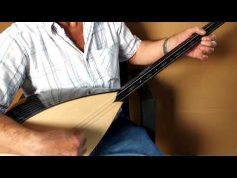 MUTU :: TURKISH ACOUSTIC LONG NECK BINDING WALNUT SAZ BAGLAMA