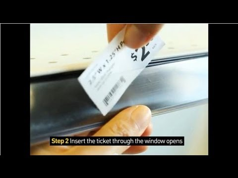 How to Insert Price Ticket into ClearVision® Ticket Molding
