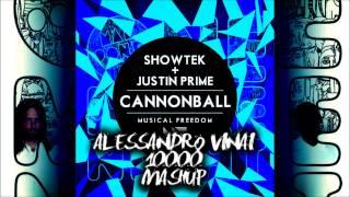 Video Showtek vs Maroon 5 - One More Cannonball Night (Alessandro Vinai 10000 Mashup) MP3, 3GP, MP4, WEBM, AVI, FLV Juli 2018