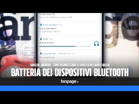 Trucchi Android: vedere il livello di batteria dei dispositivi bluetooth
