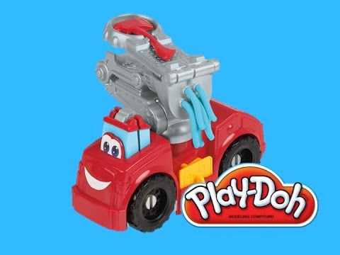 Машина бумер play doh the fire truck boomer видео