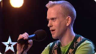 Video Robert White performs comedy song about the Judges! | Auditions Week 1 | Britain's Got Talent 2018 MP3, 3GP, MP4, WEBM, AVI, FLV Desember 2018