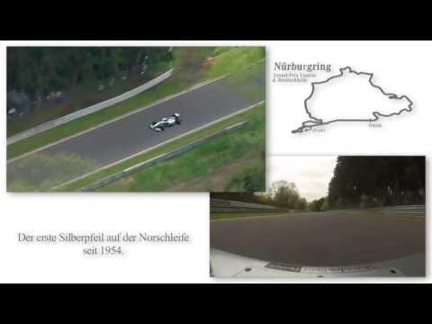 Michael Schumacher im F1 auf der Nordschleife - komplette Runde